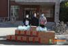 回龍觀足球協會、便民超市向北京農學院捐贈防疫物資
