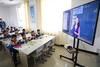 宁夏部分学校通过一根网线撑起共享教育