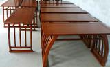供应库存二手国学桌椅所体现的艺术魅力-露瑶天