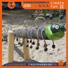 廠家直銷景區營地度假區配套戶外木質蹺蹺板、幼兒園公園木質蹺蹺板定制、吊繩蹺蹺板