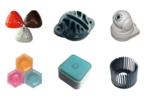 成都拓成模具设计加工厂 纪念章塑料奖品 注塑加工厂