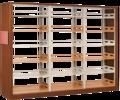 汇海/uihaijj图书馆家具F01款陈列架(柜)简约新型样式