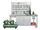QPC-T 鋁槽式鐵桌氣動PLC控制實驗臺