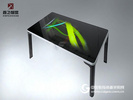55寸智能液晶屏餐桌 电容触摸一体广告机多点触控茶几鑫飞智显