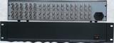 立体声音视频8路1分2(8进16出立体声音视频分配器)