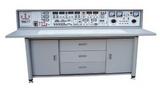 SXK-760D 電工、模電、數電、電力拖動(帶直流電機)實驗與技能實訓考核實驗室成套設備(帶智能型功率表、功率因數表)