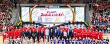2020《姚基金》慈善赛在武汉圆满收官,宏康体育国际篮联认证篮球架助力比赛!