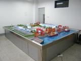 大型物流枢纽沙盘综合仿真模型 ,港口货运沙盘模型 ,铁路货运沙盘模型