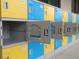 塑料更衣柜 浴室更衣柜 学生书包柜 学生储物柜
