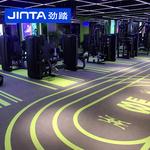 劲踏健身房地胶垫360私教地胶健身工作室地胶少儿体适能图案定制