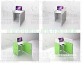 升降屏风桌机考卡座语音机考格英语考试格多功能隔断桌