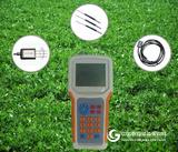 土壤温度、水分、盐分速测仪