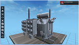 电力行业、电力专业-500kV单相油浸式变压器三维仿真实训系统