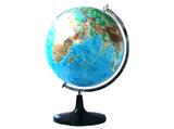 直径32cm平面地形地球仪