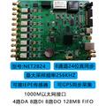 北京蓝天博云NET2824高精度以太网GPS北斗beidou同步数据采集卡 8路24位256KS 4路DA