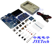 JYETech原创数字存储示波器DIY套件DSO150电子教学竞赛实训制作套件
