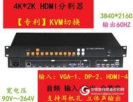 NIKO 4K超高清画面分割器3840×2160分辨率