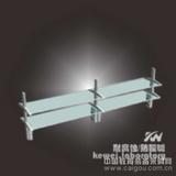 实验台铝玻试剂架  器皿架 广州实验室家具直销