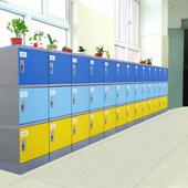 廠家全國供應好柜子牌HGZ-310M型ABS塑料環保學生書包柜大中小學教室書包柜