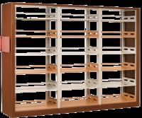 匯海/uihaijj圖書館家具F01款陳列架(柜)簡約新型樣式