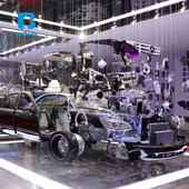 汽车教学设备 北方教具 新能源汽车教具 整车分解展示 免费师资培训 厂家直销 提供课程及教材