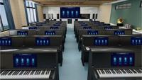金瑞冠達智慧全息電鋼琴互動教學系統