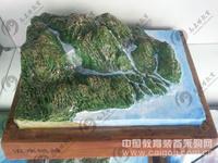 地理模型 流水地貌