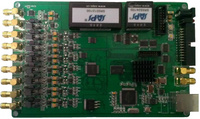 高精度以太網GPS同步數據采集卡 8路24位105KS 4路DA 8路DI 8路DO