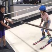 履带式室内滑雪机 江苏室内滑雪模拟器 儿童滑雪体验机厂家