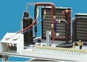KTJ-1空调制冷系统示教仪 空调制冷专业 家用电器实训设备