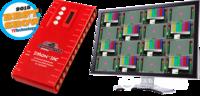 DMON-16S 16通道多畫面分割器,帶SDI和HDMI輸出,支持3G/HD/SD和自定義布局、UMD、音頻表、格子線和Tally