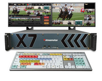 Streamstar X7 机架式在线制播系统 慢动作回放及在线字幕编辑 现场切换与流媒体直播系统