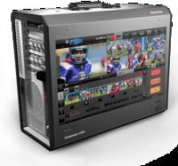 Streamstar Case 710 便攜式制播系統 全高清多點觸屏界面