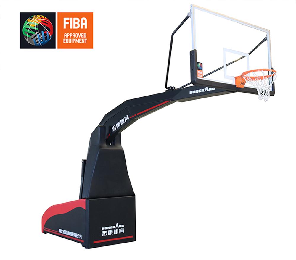 HKF-1001 电动折叠篮球架