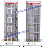四层双联透明仿真教学电梯实训装置 君晟品牌  教学实验示教仪器及装置  JS-DT-B