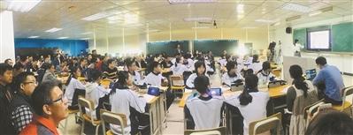 广州智慧课堂:学生不再记笔记?