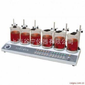 六头磁力加热搅拌器
