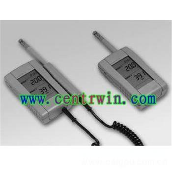 手持温湿度计/手持式温湿度仪(固定探头)特价 型号:BLD-HUMIPORT-10