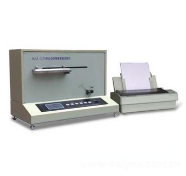全自动织物硬挺度仪 硬挺度测试仪 硬挺度检测仪 型号:DR-YG(B)022D
