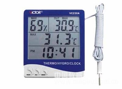 家用温湿度表/家用温湿度计型号:SLG-VC230A