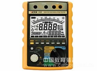 绝缘电阻测试仪/便携式电阻检测仪型号:SLG-3125