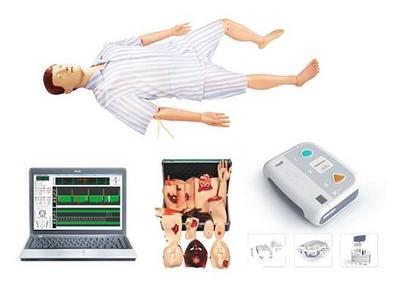 半身电脑心肺复苏模拟人 上海秉恪科教设备有限公司