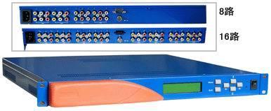 16路电视解调器 ,十六有线电视解调器,TV-AV