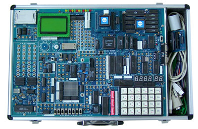 DICE-598K超强型三合一单片机微机实验箱