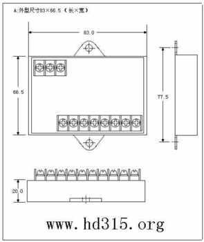 三相可控硅移相触发器/调压器