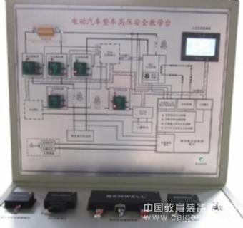 电动汽车整车CAN总线网络系统实训台