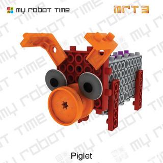 韩端创客教育机器人/智能教育机器人/中小学生益智机器人教学MRT3-1儿童积木教具