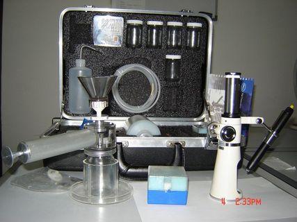 便携式油污染度检测仪(油颗粒度)