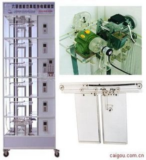1DT6-FX2N-64MR透明仿真教学电梯模型