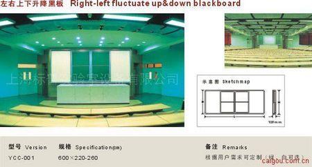 左右上下升降黑板